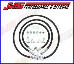 01-05 GM 6.6 6.6L LLY / LB7 Duramax Transmission Cooler Repair Hose UPGRADE Kit