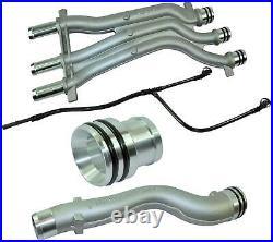 Aluminium Coolant Pipe Upgrade Repair Kit For Porsche Cayenne 4.5 V8 (2003-2006)