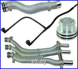 Aluminium Coolant Pipe Upgrade Repair Kit For Porsche Cayenne 9pa, 955
