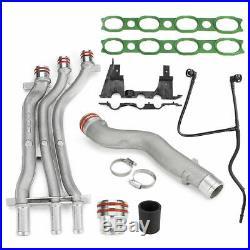 Aluminum Coolant Pipe Upgrade Kit for Porsche Cayenne 4.5 V8 2003 2004 2005 2006