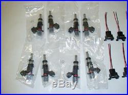 Bosch 60lb 630cc fuel injectors upgrade kit for 6.2 M156 Mercedes C63 AMG 08-15