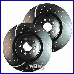EBC GD Sport Rotors / Turbo Grooved Upgraded Front Brake Discs (Pair) GD895