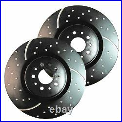 EBC GD Sport Rotors / Turbo Grooved Upgraded Rear Brake Discs (Pair) GD931