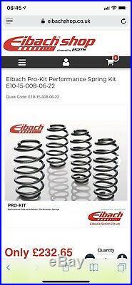 Eibach Pro-Kit Lowering Springs, 30mm, Audi A6 Avant (4F C6 2008 2011)