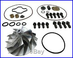 F250 F350 E350 GTP38 Billet Compressor Wheel TP38 7.3L Turbo Upgrade Repair Kit