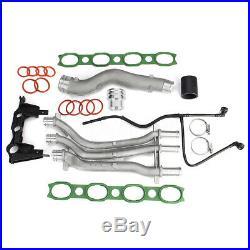 For 2003-06 Porsche Cayenne 4.5 V8 Aluminum Coolant Pipe Upgrade Kit Repair Set
