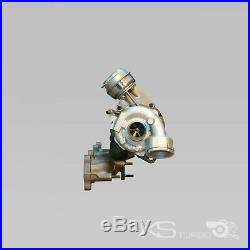 GARRETT Turbolader AUDI A3 8P 2,0TDI 03G253019L BMP BMM BVD 140PS + Montagesatz
