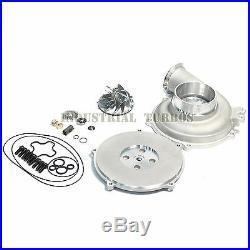 GTP38 Upgrade Kit ALL in One repair Kit 66/88 Billet Wheel+Housing+Backing Plate