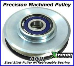 PTO Clutch For Troy Bilt 717-04376A Upgraded Bearings with Wire Repair Kit