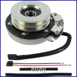 PTO Clutch for Grasshopper 71379, Upgraded Bearings! With Wire Harness Repair Kit