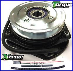PTO Clutch for Gravely 00447100, Bearing Upgrade with Wire Harness Repair Kit