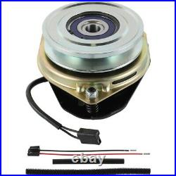 Replaces CRAFTSMAN 1686880 PTO Clutch. Bearing Upgrade! WithWireHarness Repair Kit
