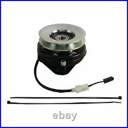 Replaces Husqvarna 539110417 PTO Clutch. OEM UPGRADE! With Wire Harness Repair Kit