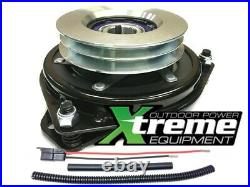 Replaces TORO 112-2320 PTO Clutch. Bearing Upgrade! With Wire Harness Repair Kit