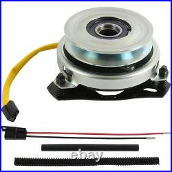 Replaces Toro PTO Clutch 115629, UPGRADED BEARINGS! With Wire Harness Repair Kit
