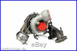 Turbolader Audi A3 2.0 TDI (8P/PA) Motor BMP / BMM 103 Kw 765261 Dichtungssatz