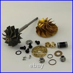 VF35 VF39 VF48 VF52 Turbo Repair Kit + Upgrade 11+0 Billet Wheel+Turbine Shaft
