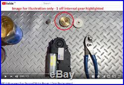 VW EOS Sunroof Motor Repair Kit Internal Gear BRASS Upgrade 1Q0959591 B C